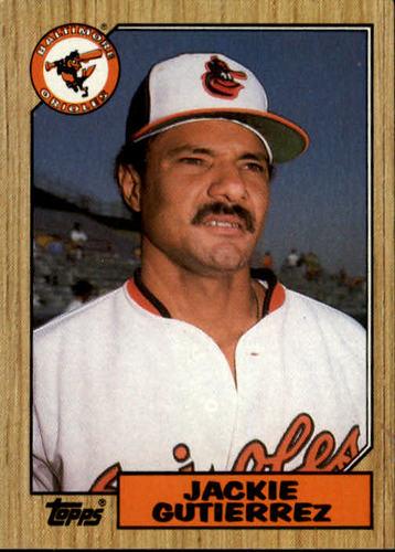 Photo of 1987 Topps #276 Jackie Gutierrez