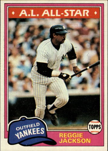Photo of 1981 Topps #400 Reggie Jackson