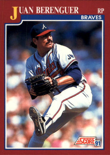 Photo of 1991 Score Rookie/Traded #73T Juan Berenguer