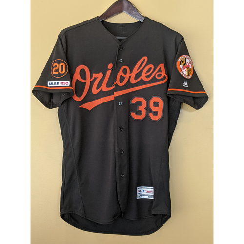 Photo of Renato Nunez - Black Alternate Jersey: Game-Used