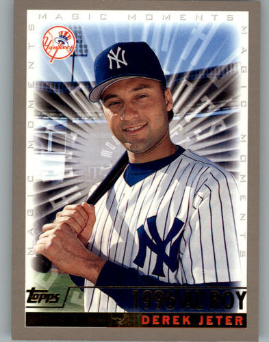 Photo of 2000 Topps #478A D.Jeter MM 1996 ROY