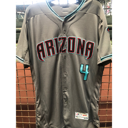 Photo of Ketel Marte 2019 Team-Issued Road Alternate Jersey, Size 44