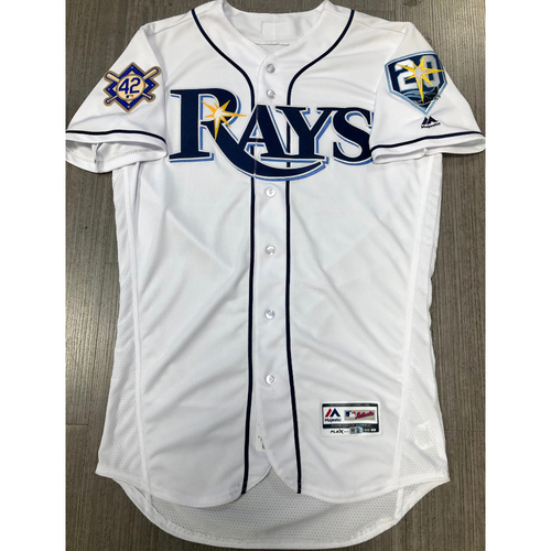 Photo of Team Issued Jackie Robinson Day Jersey - Size 40