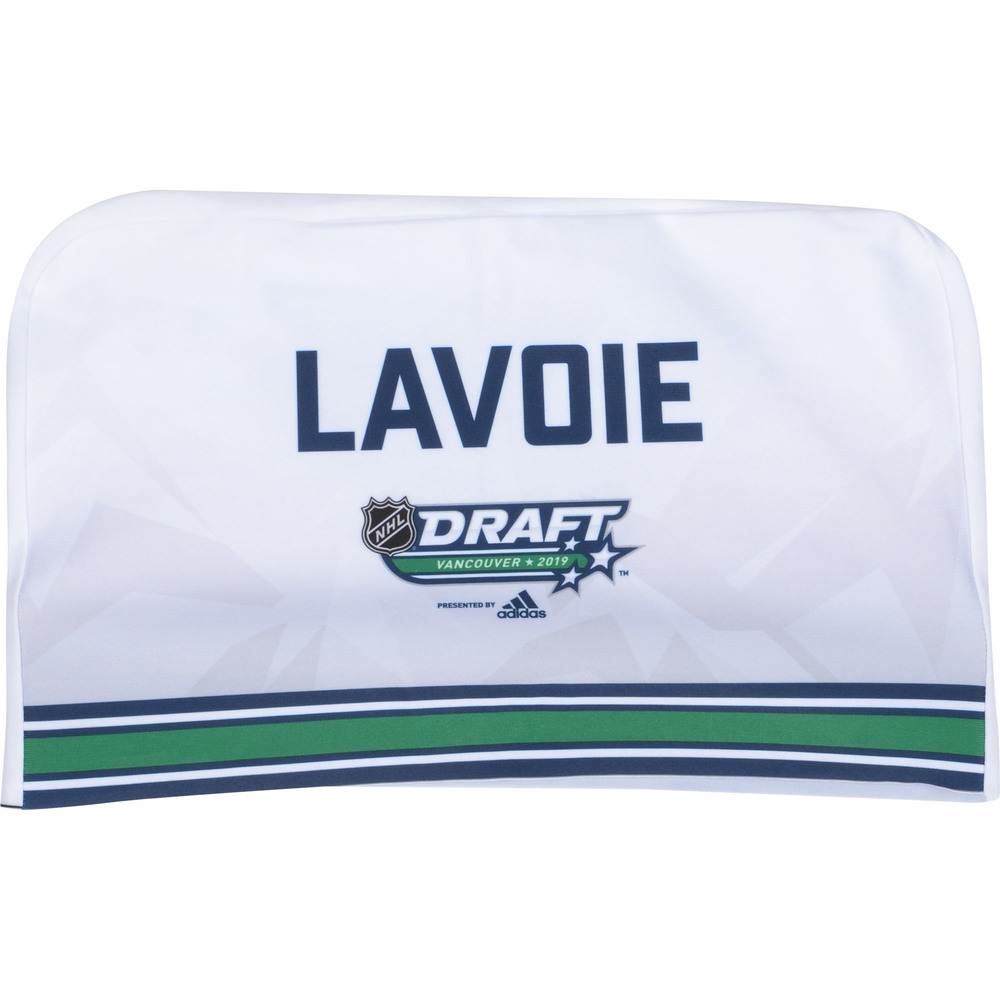 Raphael Lavoie Edmonton Oilers 2019 NHL Draft Seat Cover - Second set (Not Used)