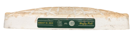 Photo of Game-Used 1st Base -- Used in Innings 1 through 9 -- Cardinals vs. Cubs -- 8/18/20