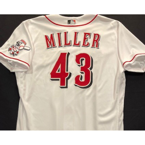 Photo of Justin Miller -- 2020 Home White Jersey -- Team Issued -- Size 48