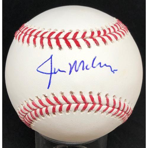 Photo of Jim Maloney -  Autographed Official Major League Baseball