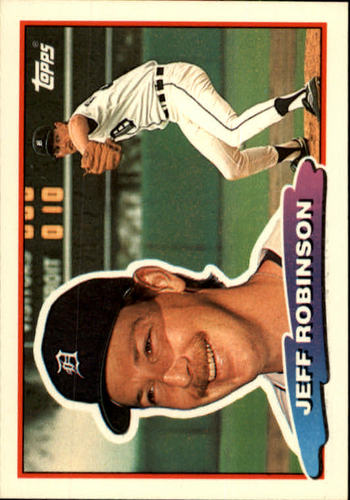 Photo of 1988 Topps Big #123 Jeff D. Robinson
