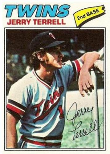 Photo of 1977 Topps #513 Jerry Terrell