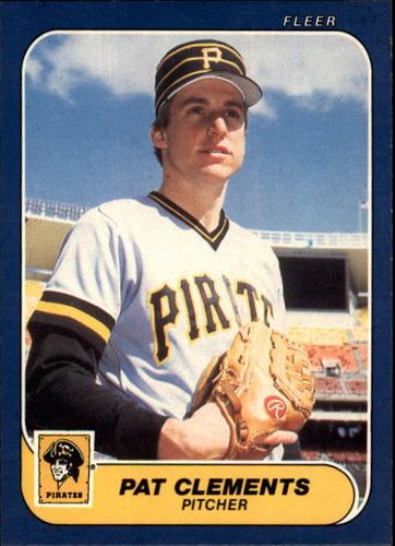 Photo of 1986 Fleer #606 Pat Clements