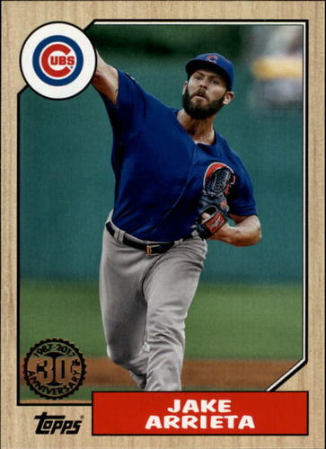Photo of 2017 Topps '87 Topps #8749 Jake Arrieta
