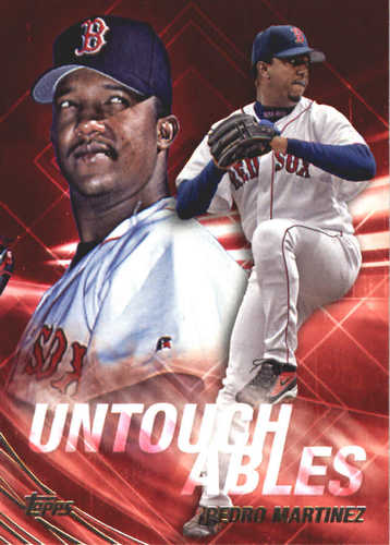 Photo of 2017 Topps Update Untouchables #U17 Pedro Martinez