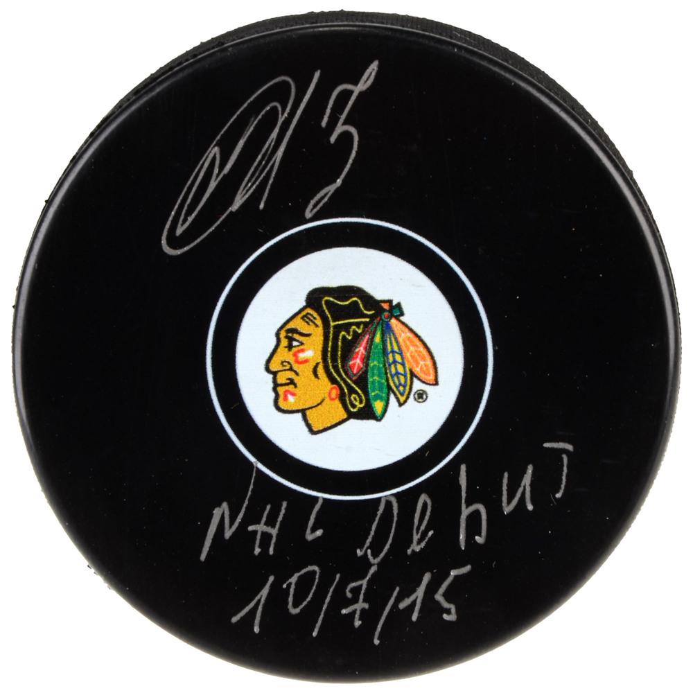 Artemi Panarin Chicago Blackhawks Autographed Hockey Puck with