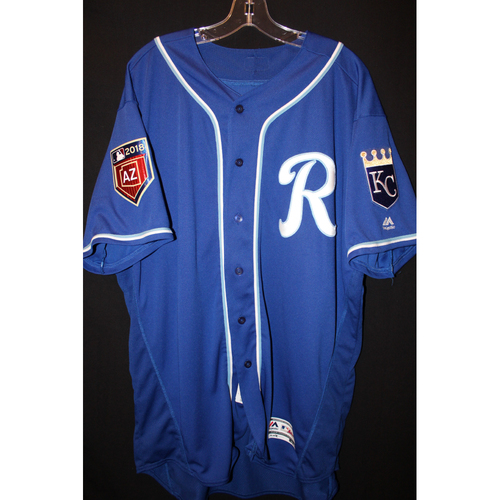 Photo of Team-Issued Spring Training Jersey: Lucas Duda (Size 52)