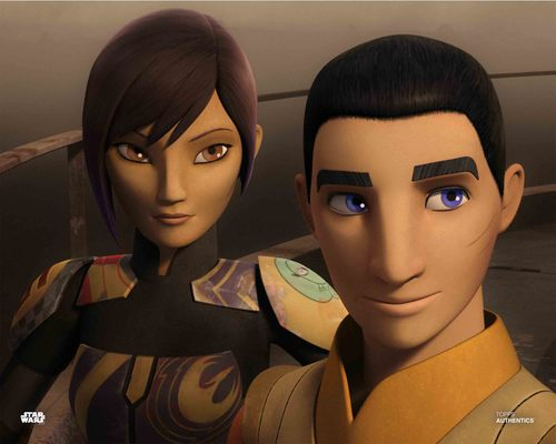 Sabine Wren and Ezra Bridger
