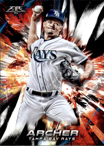 Photo of 2018 Topps Fire #52 Chris Archer