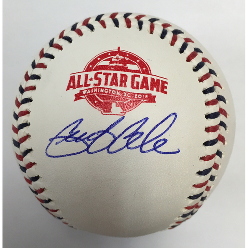 Photo of Gerrit Cole Autographed 2018 All Star Game Logo Baseball