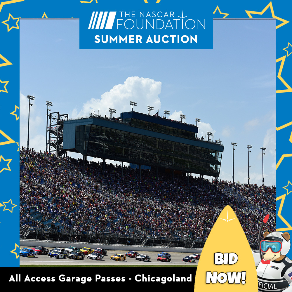 All Access Garage Passes at Chicagoland!