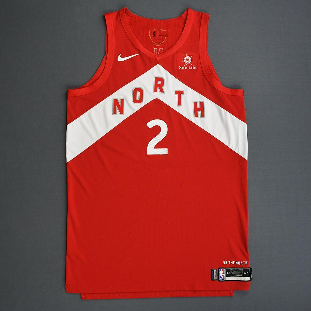brand new 32a39 591f0 Kawhi Leonard - Toronto Raptors - 2019 NBA Finals - Game 4 ...