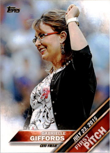 Photo of 2016 Topps First Pitch #FP2 Gabrielle Giffords