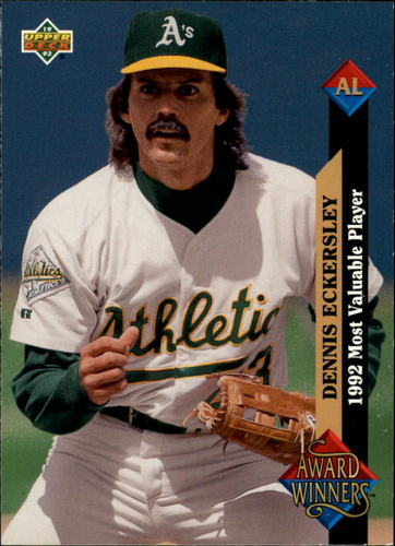 Photo of 1993 Upper Deck #487 Dennis Eckersley AW