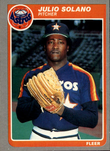 Photo of 1985 Fleer #363 Julio Solano