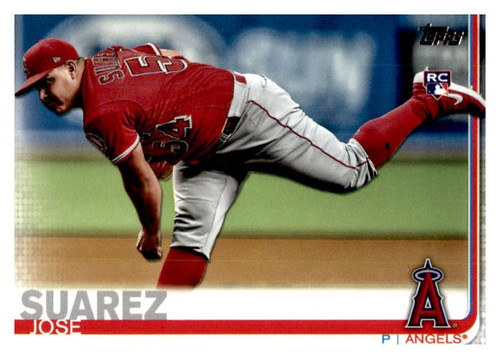 Photo of 2019 Topps Update #US14 Jose Suarez RC