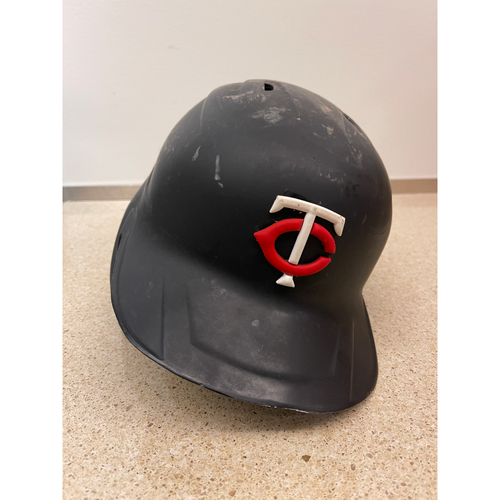 Photo of Minnesota Twins 2020 Game-used Twins Helmet - Choose Your Player and Size!