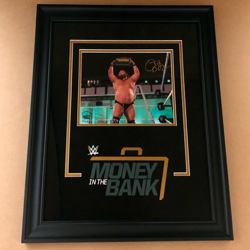 Photo of Otis SIGNED Money In The Bank 2020 Champion's Edition Frame (Random Number)