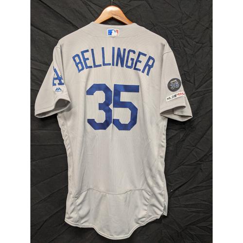 Photo of Cody Bellinger Team-Issued 2019 Road Jersey