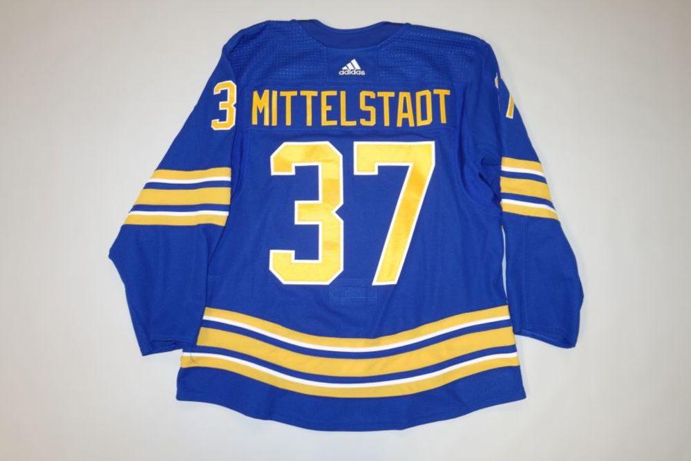 Casey Mittelstadt 2020-21 Buffalo Sabres Set 2 Home Jersey