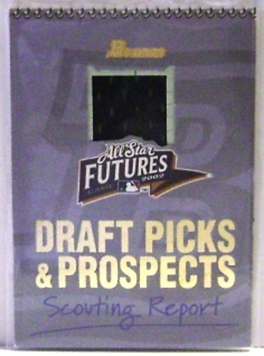 Photo of 2002 Bowman Draft Fabric of the Future Relics #SB Sean Burnett