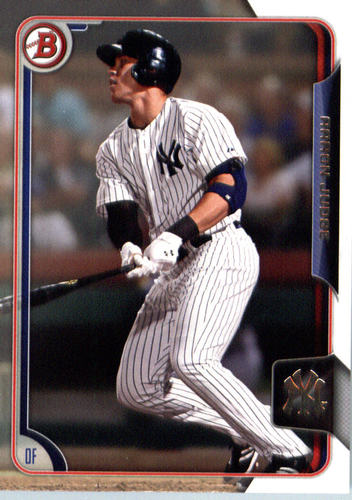 Photo of 2015 Bowman Draft #150 Aaron Judge Pre-Rookie Card