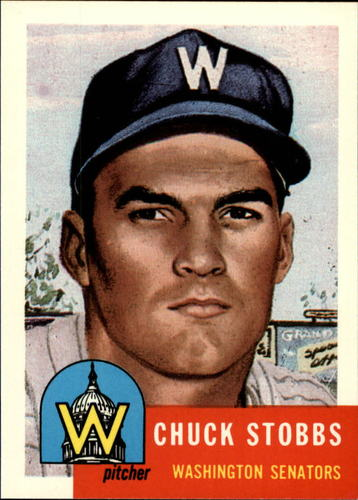 Photo of 1991 Topps Archives 1953 #89 Chuck Stobbs