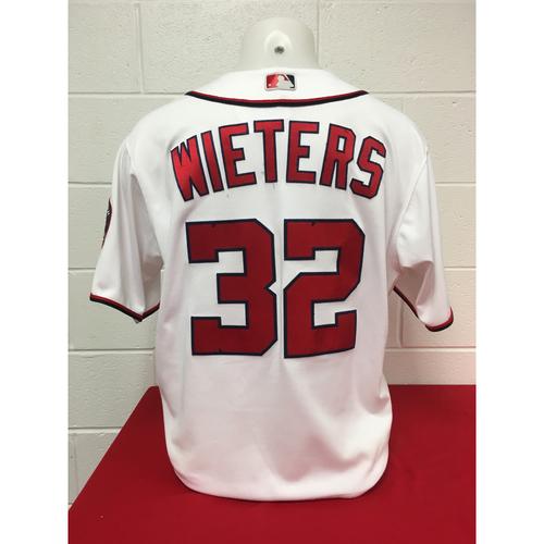 Photo of Game-Used Jersey: Matt Wieters 2017 NLDS (Jersey Size - 48)