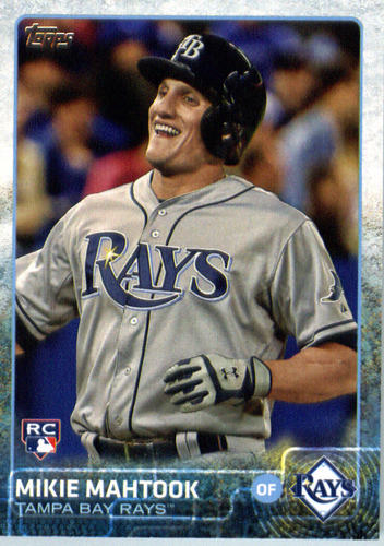 Photo of 2015 Topps Update #US299 Mikie Mahtook RC