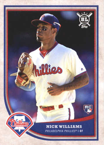 Photo of 2018 Topps Big League #297 Nick Williams RC