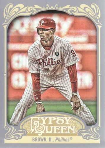 Photo of 2012 Topps Gypsy Queen #131 Domonic Brown