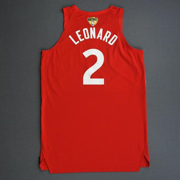 brand new 32a39 591f0 Kawhi Leonard - Toronto Raptors - 2019 NBA Finals - Game 4 ...