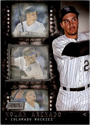 Photo of 2016 Stadium Club Contact Sheet #CS10 Nolan Arenado