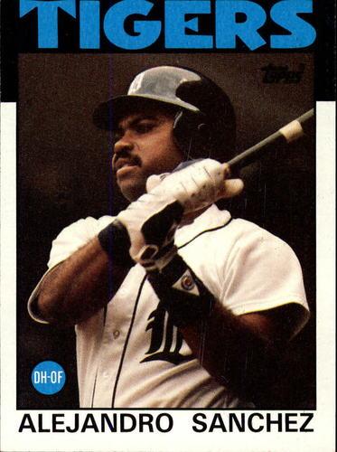 Photo of 1986 Topps #563 Alejandro Sanchez