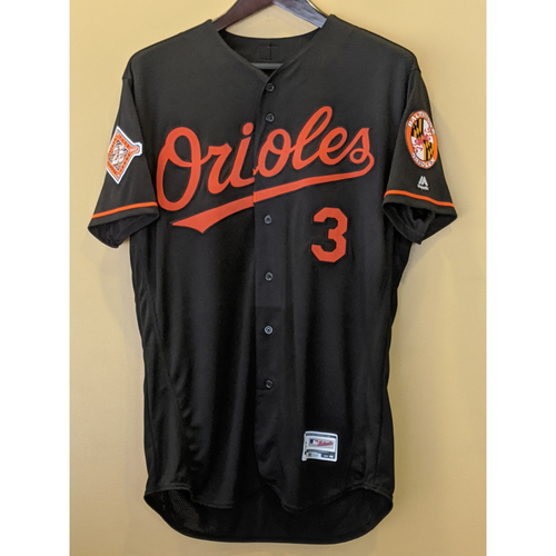 Photo of Ryan Flaherty - Black Alternate Jersey: Team-Issued