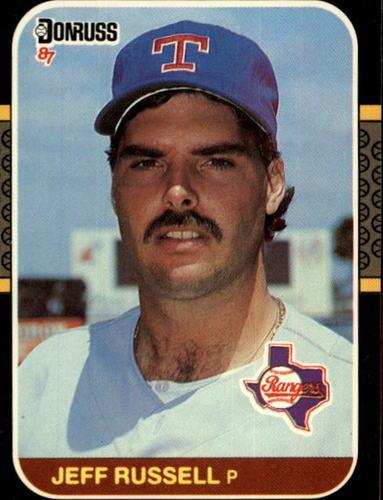 Photo of 1987 Donruss #550 Jeff Russell