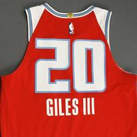 Harry Giles III - Sacramento Kings - Game-Worn City Edition Jersey - 2019-20 Season