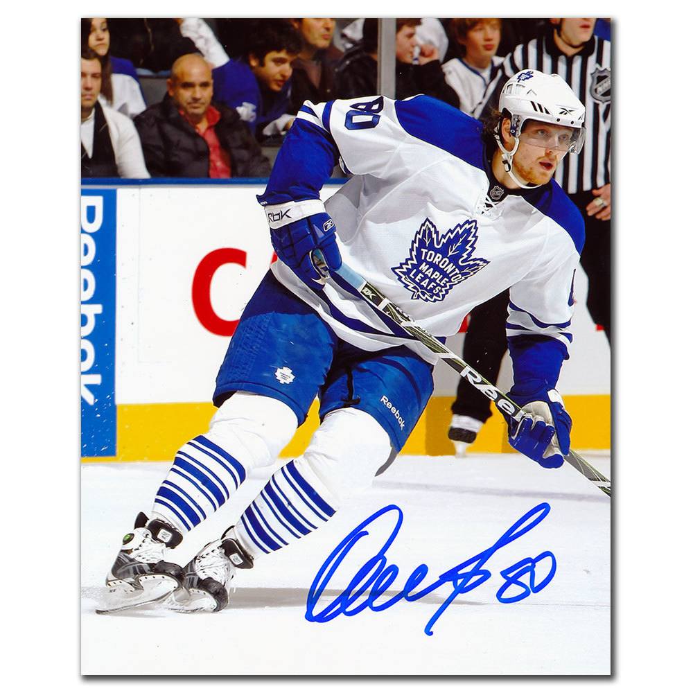 Nik Antropov Toronto Maple Leafs ALTERNATE JERSEY Autographed 8x10