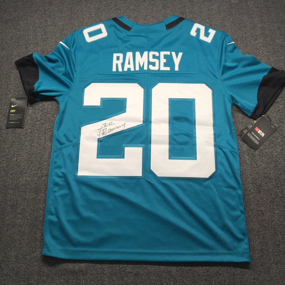 Jaguars - Jalen Ramsey Signed Nike Limited Jersey Size M