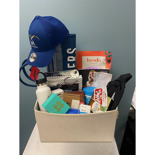 Photo of Dodger Spouses Favorite Things Basket