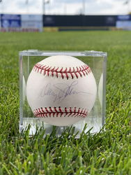 Photo of Davey Johnson Signed Baseball
