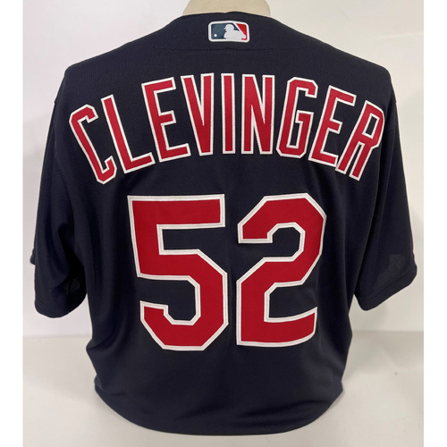 Photo of Team Issued Jersey - Mike Clevinger #52 - Size 46T+2B