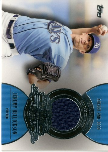Photo of 2013 Topps Making Their Mark Relics #JH Jeremy Hellickson